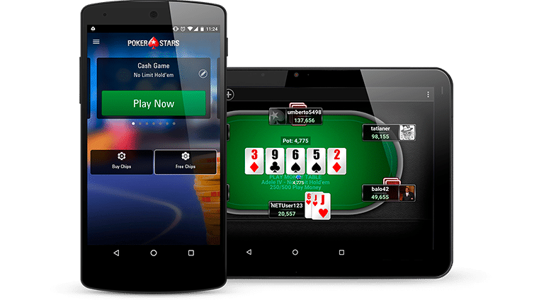 Скачать pokerstars на деньги на android apk